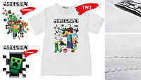 "Футболка з друком ""Minecraft"" / футболка с печатью"