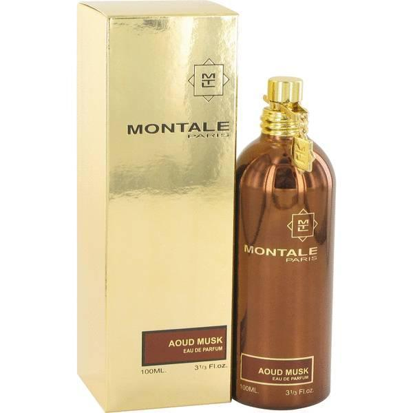 Парфюмерная вода женская (духи)  Montale Aoud Musk Travel Edition 100 мл