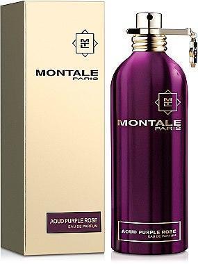 Парфюмерная вода женская (духи) Montale Aoud Purple Rose 100 мл