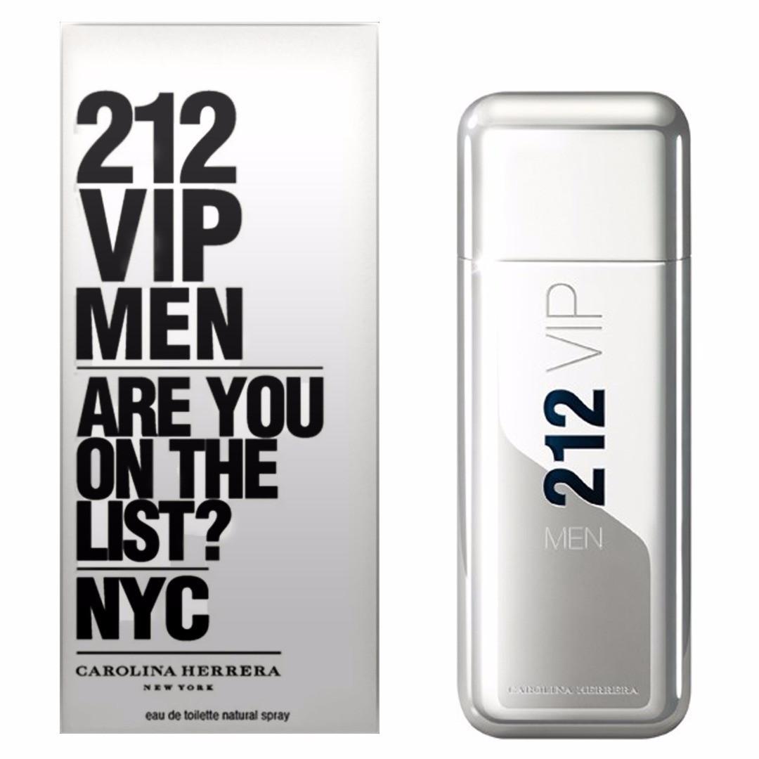 Туалетная вода мужская (духи) Carolina Herrera 212 VIP Men 100 мл