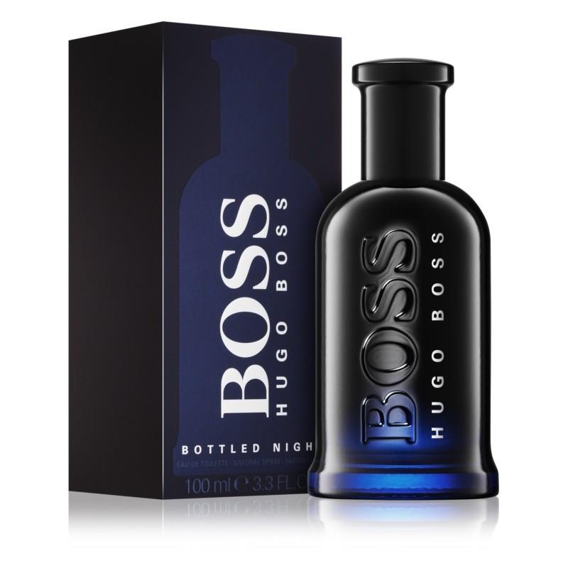 Туалетная вода мужская (духи)  Hugo Boss Boss Bottled Night 100 мл
