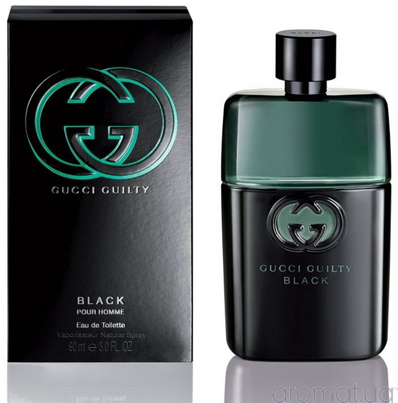 Туалетная вода мужская (духи) Gucci Guilty Black Pour Homme 100 мл
