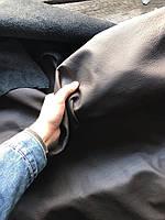 Натуральная итальянская кожа Наппа с тиснением. Толщина 0.9-1мм. Шоколадный цвет. 1 сорт