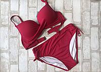 Женский купальникраздельный стильный размер норма 44-50(цвета как на фото), фото 1
