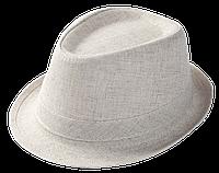 Шляпа челентанка лен канва