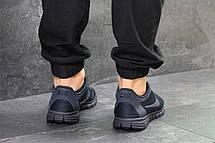 Мужские кроссовки летние Nike Free Run 3.0,темно синие, фото 2
