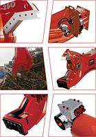 Гидравличекие ножницы для бетона CMB CR 410