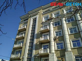 Новая балюстрада на балконе многоэтажного дома в Киеве с сохранением архитектурного стиля 21