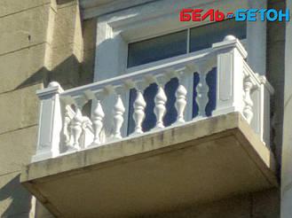 Новая балюстрада на балконе многоэтажного дома в Киеве с сохранением архитектурного стиля 22