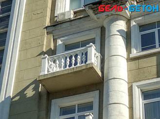 Новая балюстрада на балконе многоэтажного дома в Киеве с сохранением архитектурного стиля 23