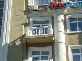 Новая балюстрада на балконе многоэтажного дома в Киеве с сохранением архитектурного стиля 24