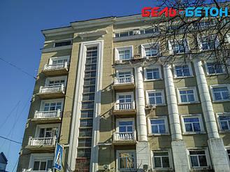 Новая балюстрада на балконе многоэтажного дома в Киеве с сохранением архитектурного стиля 25