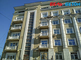 Новая балюстрада на балконе многоэтажного дома в Киеве с сохранением архитектурного стиля 26