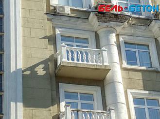 Новая балюстрада на балконе многоэтажного дома в Киеве с сохранением архитектурного стиля 27