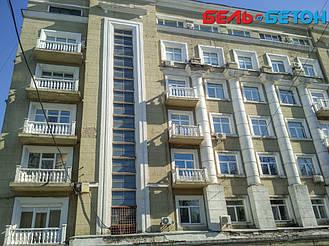 Новая балюстрада на балконе многоэтажного дома в Киеве с сохранением архитектурного стиля 28