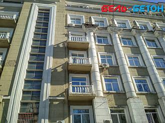 Новая балюстрада на балконе многоэтажного дома в Киеве с сохранением архитектурного стиля 29