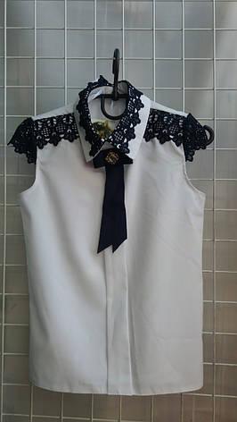 Школьная блузка для девочки р.6-14 лет опт, фото 2