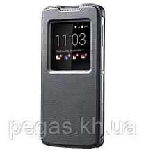 Чохол шкіра BlackBerry DTEK60 розумний фліп чорний. Оригінал