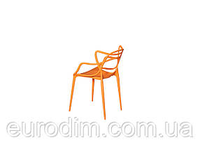 Стул пластиковый FLOWER PP-601 orange, фото 2