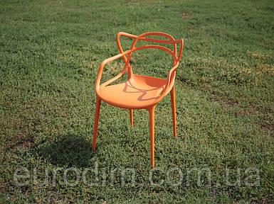 Стул пластиковый FLOWER PP-601 orange