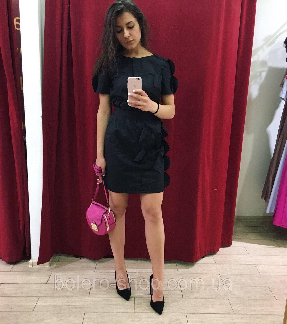 Женское платье Les Bourdelles Des Garçons Италия черное
