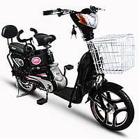 Электроскутер Skybike ELF-2 (350W-48/12 V/Ah) Черный