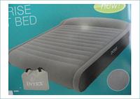 Надувная кровать Intex Deluxe Mid Rise Pillow Rest Bed 67726 (152х203х41 см.), фото 1