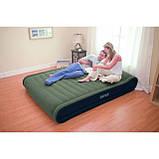 Надувная кровать Intex Deluxe Mid Rise Pillow Rest Bed 67726 (152х203х41 см.), фото 2