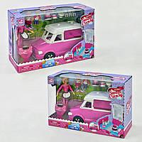 Машина-кондитерская 899-50 и 3 куклы с аксессуарами