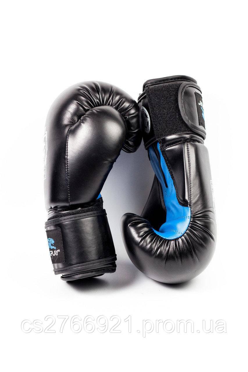 Боксерські рукавиці PowerPlay 3001 Чорно-Сині