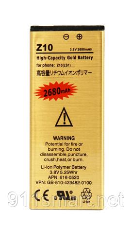 Усиленный аккумулятор Blackberry Z10 LS1