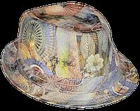 Шляпа челентанка х/б галактика