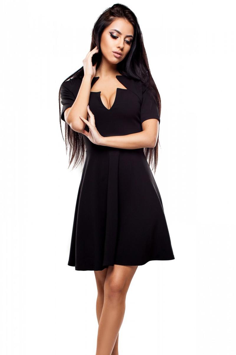 (S, L) Жіноче чорне вечірнє плаття Malibu
