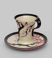 Фарфоровая чайная пара Сакура (Pavone) JP-468/ 3
