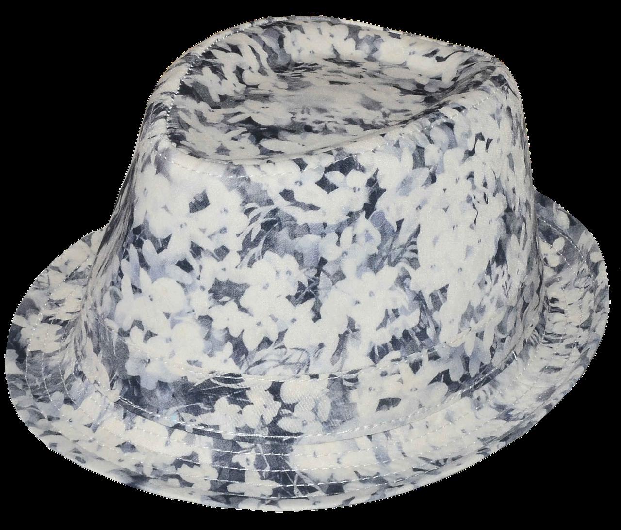 Шляпа челентанка х/б матиола серая