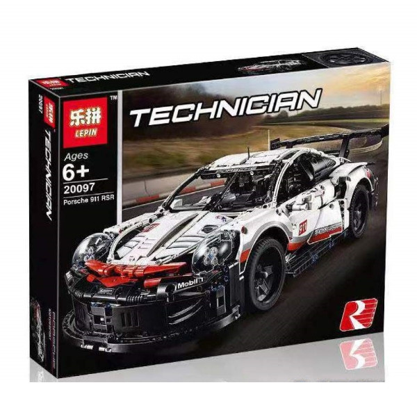 "Конструктор Lepin 20097 ""Porsche 911 RSR"" (аналог Lego Technic 42096), 1770 дет"
