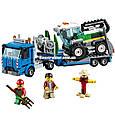 """Конструктор Lepin 02134 City """"Транспортировщик для комбайнов"""" 401 деталей. Аналог LEGO City 60223, фото 3"""