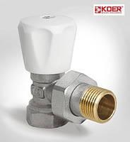 Вентиль радиаторный угловой 1/2 х 1/2  KOER (KR.901)