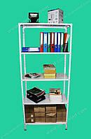 Стелаж з полицями для аптеки посилений 2000х1200х600 (5полок), фото 1