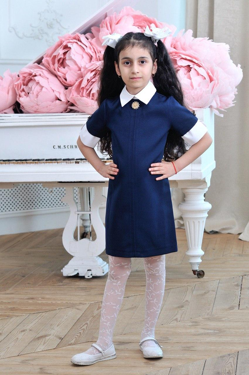 Сарафан для девочки в школу р.6-14 лет опт