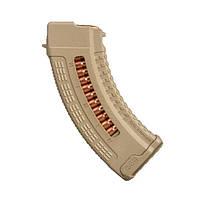 Магазин FAB Defense Ultimag AK 30R Tan кал. 7,62х39 с окном. Цвет - песочный
