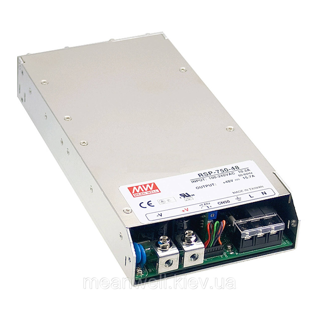 RSP-750-12 Блок питания Mean well 750 вт, 62,5А, 12в