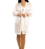 Красивый комплект -халат с ночной рубашкой, фото 1