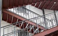 Изготовление металлических лестниц и перил. Изготовление металлоконструкций.