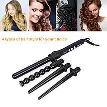 Плойка  4 в 1 стайлер для волос Kemei Km-4083, фото 3
