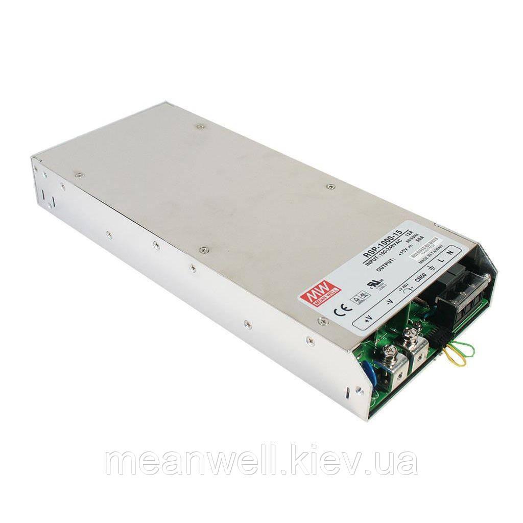 RSP-1000-15 Блок питания Mean well  750 вт, 50A, 15в