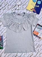 Школьная блузка для девочек от 6 до 14 лет.