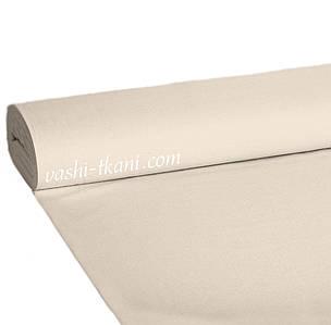 Ранфорс гладкокрашенный бежево-серый 100% хлопок.