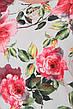 Свободное платье с цветами для полных Настасья, фото 5