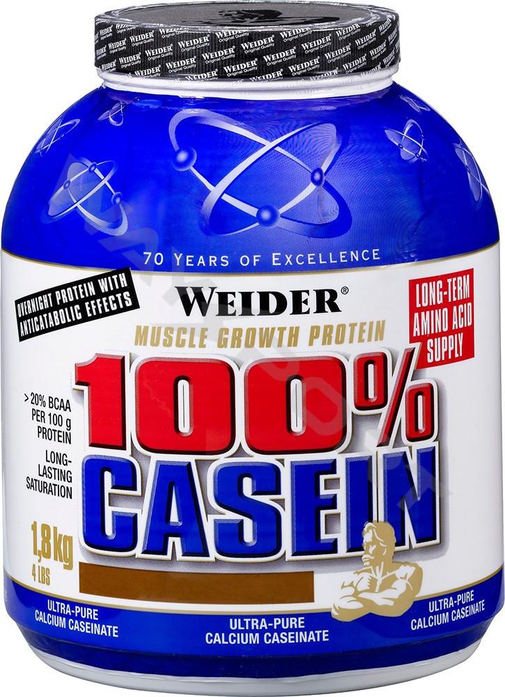 Протеин Казеин Casein (1,8 kg) 100% Weider